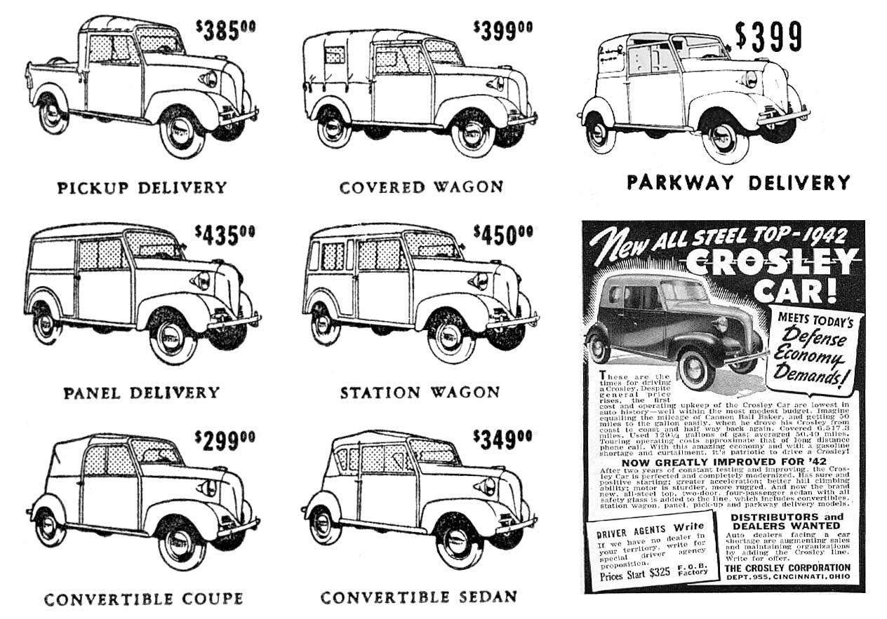 details on crosley prewar models 1939 1942 rh crosleyautoclub com