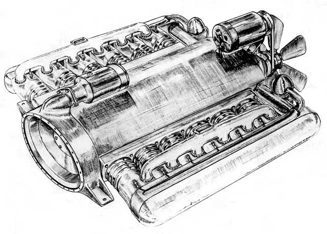 crosley engine family tree flat 12